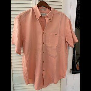 Orvis Short Sleeve Button Down Dress Shirt